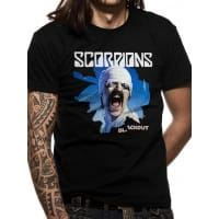 Scorpions Blackout T-Shirt, Medium