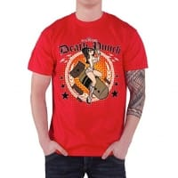 Five Finger Death Punch Bomber Girl T-Shirt, Medium