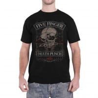 Five Finger Death Punch Wicked T-Shirt, Medium