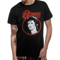 David Bowie Ziggy Face T-Shirt, Medium