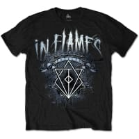 In Flames Battles Crest T-Shirt, Medium