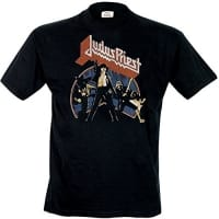 Judas Priest Unleashed V2 T-Shirt, Medium