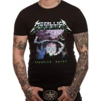Metallica Creeping Death T-Shirt, Medium