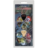 Iron Maiden Gitarrplektrum 12-pack
