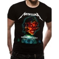 Metallica Hardwired Album Cover T-Shirt, Medium