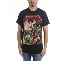 Metallica Four Horsemen T-shirt, Medium