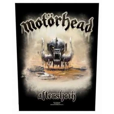Motörhead Aftershock Backpatch