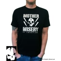 Mother Misery Enkoping Skull T-Shirt, Medium