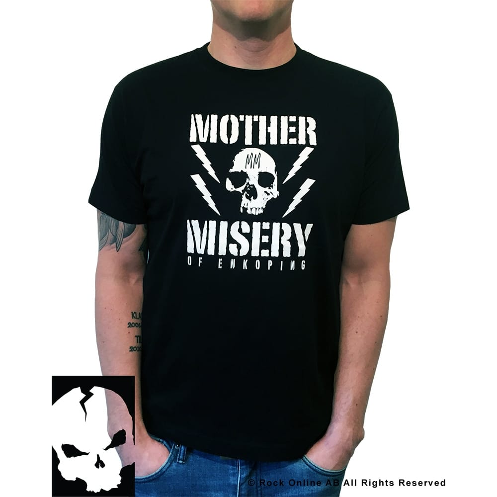 Mother Misery Enkoping Skull T-Shirt