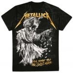 Metallica Tip Scales T-shirt, Medium