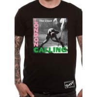 The Clash London Calling T-Shirt, Medium