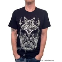 Dark Funeral Baphomet T-Shirt, Medium