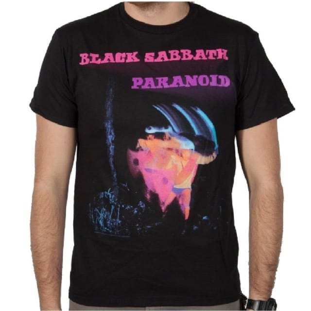 Black Sabbath Paranoid Motion Trails