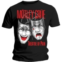 Mötley Crue Theatre Of Pain T-Shirt, Medium
