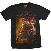 Star Wars Episode 7 Chewbacca T-Shirt, Medium