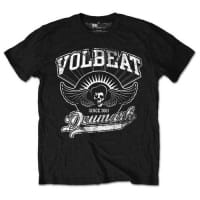 Volbeat Rise From Denmark T-Shirt, Medium
