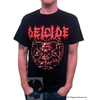 Deicide Blasphererion T-Shirt, Medium