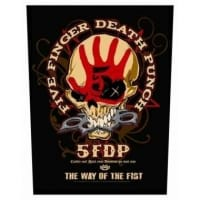 Five Finger Death Punch Way Of The Fist Backpatch