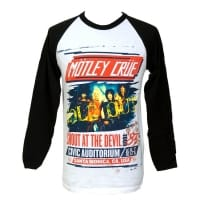 Mötley Crue Shout At The Devil Long Sleeve, Medium