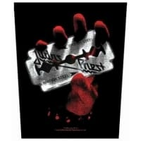 Judas Priest British Steel Backpatch