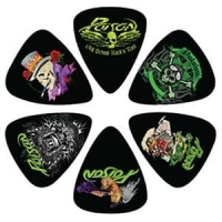 Poison Gitarrplektrum 6-pack