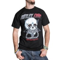 Mötley Crue Too Fast For Love T-Shirt, Medium