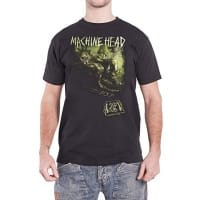 Machine Head Unto The Locust Greenish T-Shirt, Medium