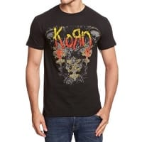 Korn Skulldelis T-Shirt, Medium