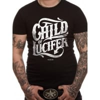 Hate No Hate Child Of Lucifer T-Shirt, Medium