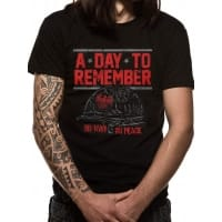 A Day To Remember No War T-Shirt, Medium
