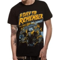 A Day To Remember They Came From The Garage T-Shirt, Medium