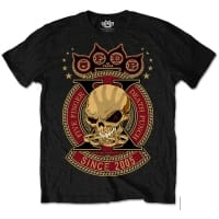 Five Finger Death Punch 10 Years T-Shirt, Medium