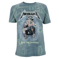 Metallica Ride The Lightening All Over T-Shirt, Medium