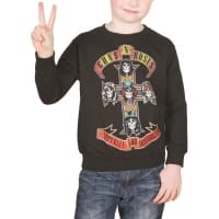 Guns N Roses Appetite For Destruction Sweatshirt, 5-6 år