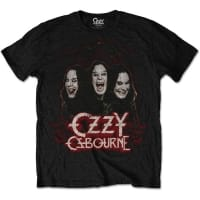 Ozzy Osbourne Crows & Bars T-Shirt, Medium