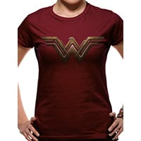 Wonder Woman Logo T-Shirt, Medium