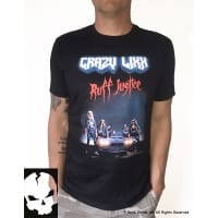 Crazy Lixx Ruff Justice T-Shirt, Medium