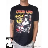 Crazy Lixx Girls Of The 80s T-Shirt, Medium