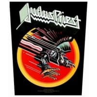 Judas Priest Screaming For Vengence Backpatch