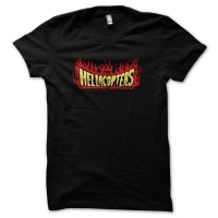 The Hellacopters Flames T-Shirt, Medium
