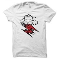 The Hellacopters Grace Cloud White T-Shirt, Medium