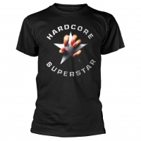 Hardcode Superstar Black Album T-Shirt, Medium