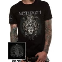 Meshuggah 25 Years T-Shirt, Medium