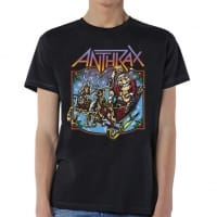 Anthrax Christmas Is Coming T-Shirt, Medium