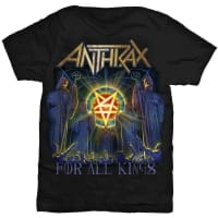 Anthrax For All Kings T-Shirt, Medium