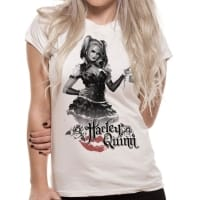 Batman Harley Quinn Arkham Night T-Shirt, Medium