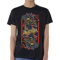 Anthrax Evil King T-Shirt, Medium