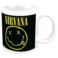 Nirvana Smiley Mugg