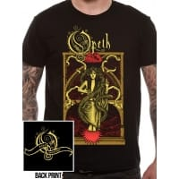 Opeth Moon Above T-Shirt, Medium