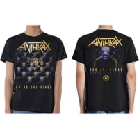 Anthrax Among The Kings T-Shirt, Medium